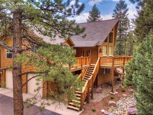 Photo of 1220 Spruce Ridge Lane, Woodland Park, CO 80863 (MLS # 7339062)