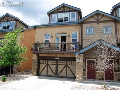 Photo of 5872 Canyon Reserve Heights, Colorado Springs, CO 80919 (MLS # 6556072)
