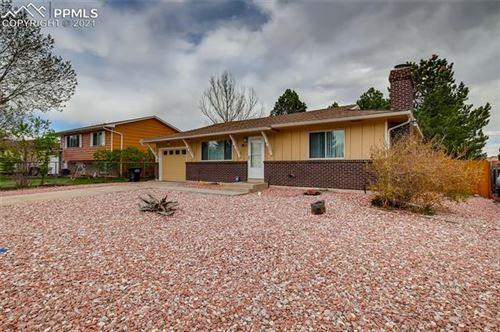 Photo of 3811 Mesa Grande Drive, Colorado Springs, CO 80918 (MLS # 9618081)