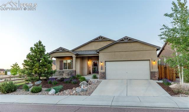 7175 Mustang Rim Drive, Colorado Springs, CO 80923 - #: 8608089