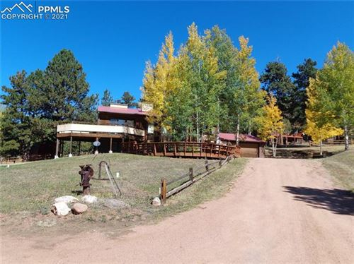 Photo of 265 Sun Valley Drive, Woodland Park, CO 80863 (MLS # 3637105)