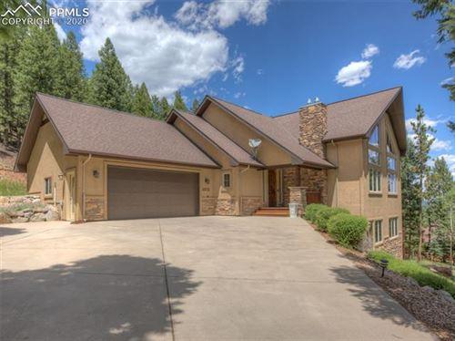 Photo of 1312 Spruce Ridge Lane, Woodland Park, CO 80863 (MLS # 2444111)