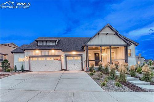 Photo of 12598 Pensador Drive, Colorado Springs, CO 80921 (MLS # 4053115)