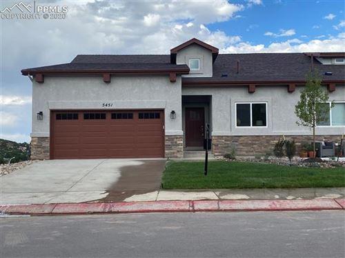 Photo of 5451 Silverstone Terrace, Colorado Springs, CO 80919 (MLS # 1658119)