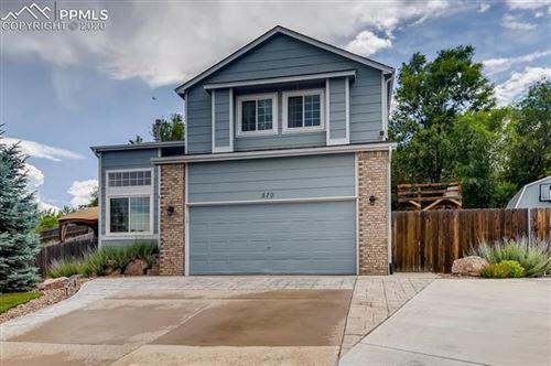 Photo of 570 Crestline Drive, Colorado Springs, CO 80916 (MLS # 2152122)