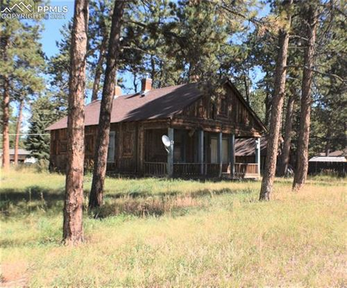 Photo of 350 County Road, Woodland Park, CO 80863 (MLS # 9626125)