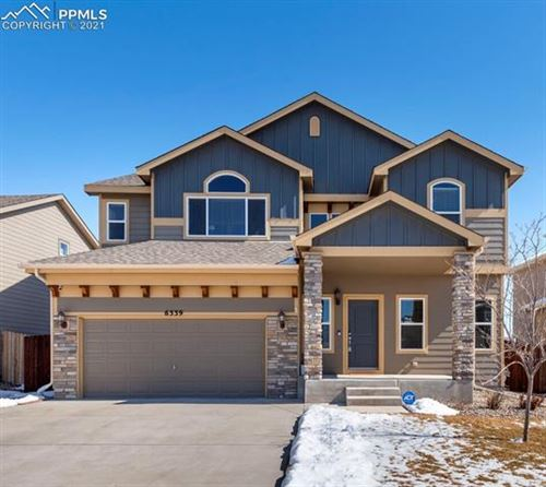 Photo of 6339 Tranters Creek Way, Colorado Springs, CO 80925 (MLS # 1375130)