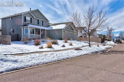Photo of 5783 Vermillion Bluffs Drive, Colorado Springs, CO 80923 (MLS # 5234136)