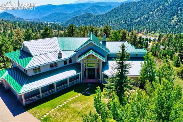 Photo for 215 Morning Sun Drive, Woodland Park, CO 80863 (MLS # 3326145)