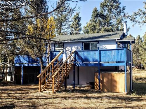 Photo of 667 Blossom Road, Woodland Park, CO 80863 (MLS # 4868151)