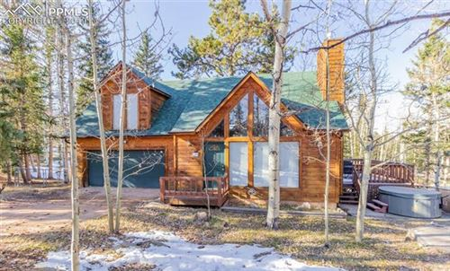 Photo of 168 Loafers Lane, Woodland Park, CO 80863 (MLS # 8853155)