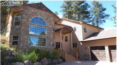 Photo of 1360 Masters Drive, Woodland Park, CO 80863 (MLS # 7193157)