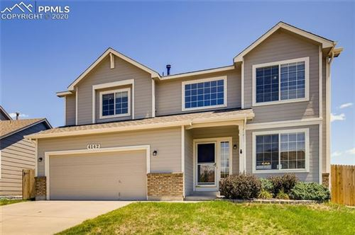 Photo of 4142 Round Hill Drive, Colorado Springs, CO 80922 (MLS # 8450164)