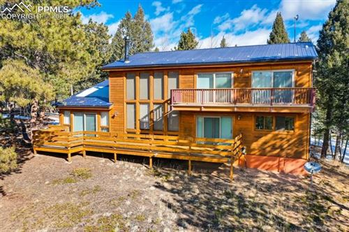 Photo of 668 University Drive, Woodland Park, CO 80863 (MLS # 7169165)