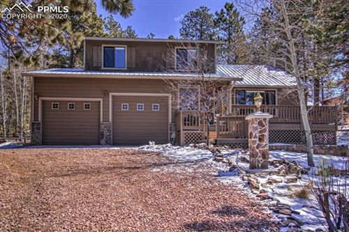 Photo of 245 Sun Valley Drive, Woodland Park, CO 80863 (MLS # 2685173)