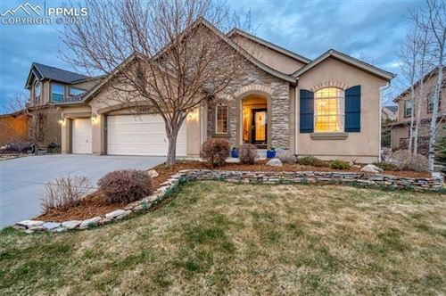 Photo of 13867 Single Leaf Court, Colorado Springs, CO 80921 (MLS # 3711186)