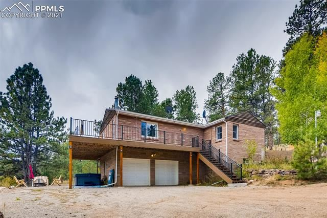 Photo for 15454 Westcreek Road, Woodland Park, CO 80863 (MLS # 2392195)