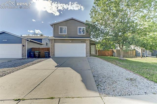 4540 Borden Drive, Colorado Springs, CO 80911 - #: 9388198