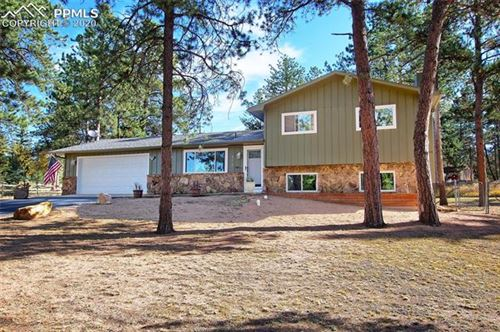 Photo of 575 Sunnywood Lane, Woodland Park, CO 80863 (MLS # 4810202)