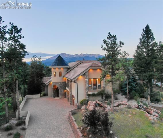 Photo for 201 Eagles Perch Place, Woodland Park, CO 80863 (MLS # 2778213)