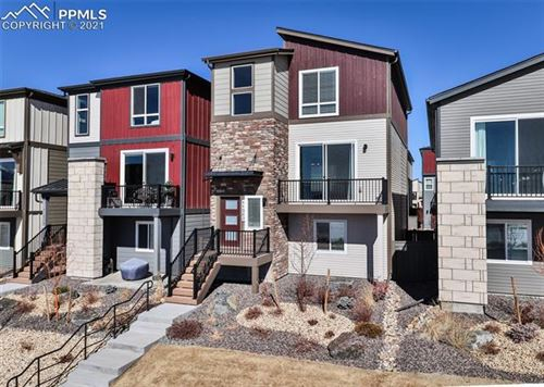 Photo of 11242 Modern Meadow Loop, Colorado Springs, CO 80921 (MLS # 3270225)