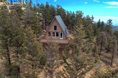 Photo of 6840 Eagle Mountain Road, Manitou Springs, CO 80829 (MLS # 8315246)
