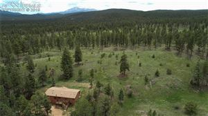 Photo of 5460 Painted Rocks Road, Woodland Park, CO 80863 (MLS # 4883247)