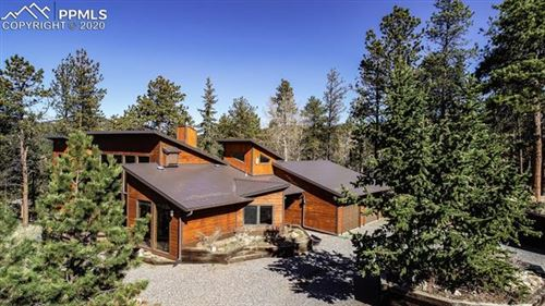 Photo of 220 Morning Sun Drive, Woodland Park, CO 80863 (MLS # 4639249)