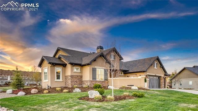 Photo for 2232 Red Edge Heights, Colorado Springs, CO 80921 (MLS # 2558270)