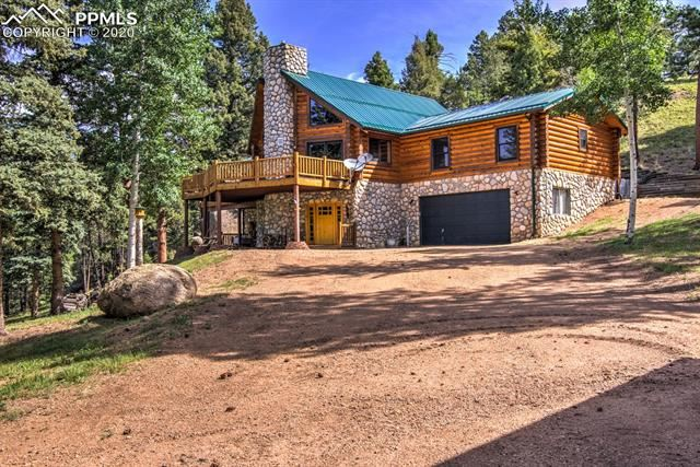 Photo for 2740 County Road 782 Road, Woodland Park, CO 80863 (MLS # 9223272)