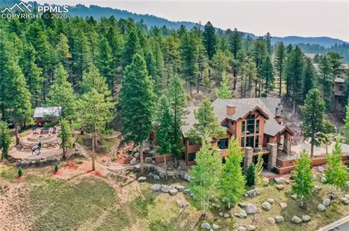 Photo of 409 Falcons Rest Place, Woodland Park, CO 80863 (MLS # 7564277)