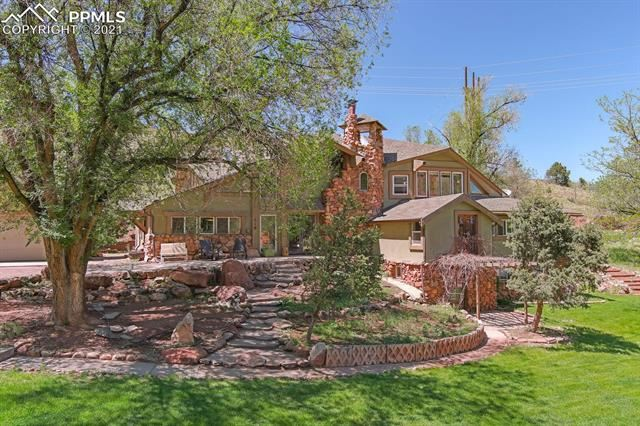 Photo for 318 Oak Place, Manitou Springs, CO 80829 (MLS # 8703278)