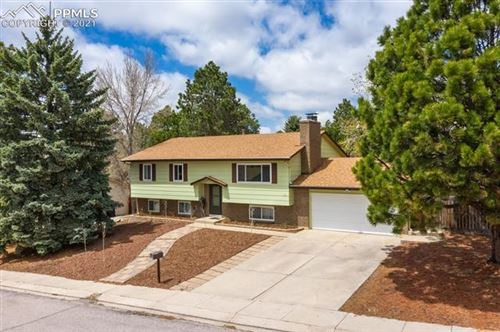 Photo of 3130 Cortina Drive, Colorado Springs, CO 80918 (MLS # 7809287)