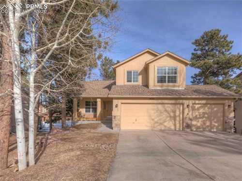 Photo of 1400 Evergreen Heights Drive, Woodland Park, CO 80863 (MLS # 1059303)