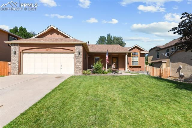 3140 Boot Hill Drive, Colorado Springs, CO 80922 - #: 6783321