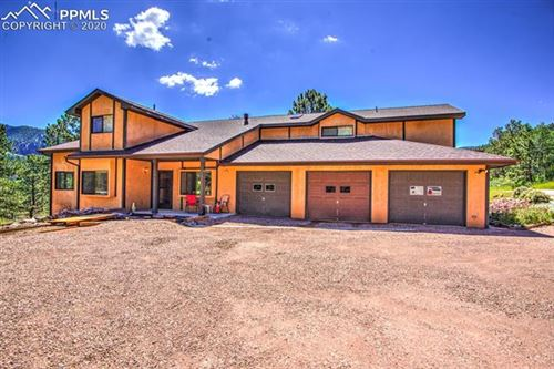 Photo of 391 Creek Side Drive, Woodland Park, CO 80863 (MLS # 8482325)