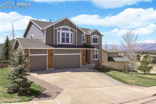 Photo of 1335 Almagre Peak Drive, Colorado Springs, CO 80921 (MLS # 3231328)