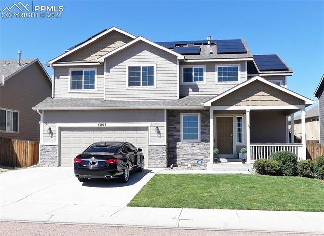 4804 Justeagen Drive, Colorado Springs, CO 80911 - #: 2906329
