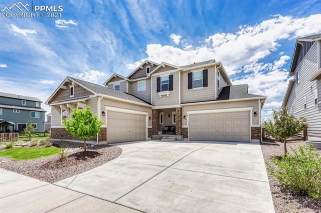 6563 Mineral Belt Drive, Colorado Springs, CO 80927 - #: 2235352