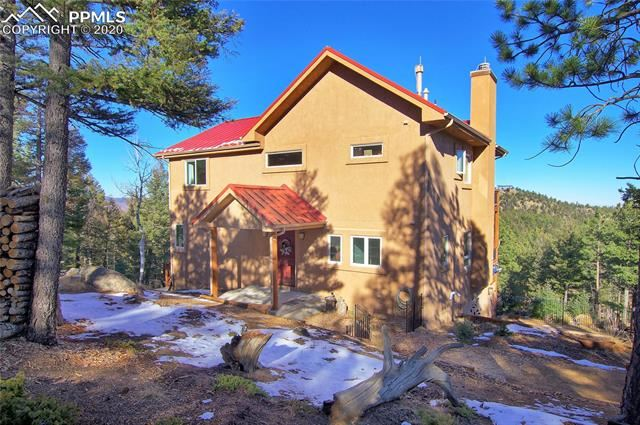 Photo for 2185 Deer Mountain Road, Manitou Springs, CO 80829 (MLS # 9035376)