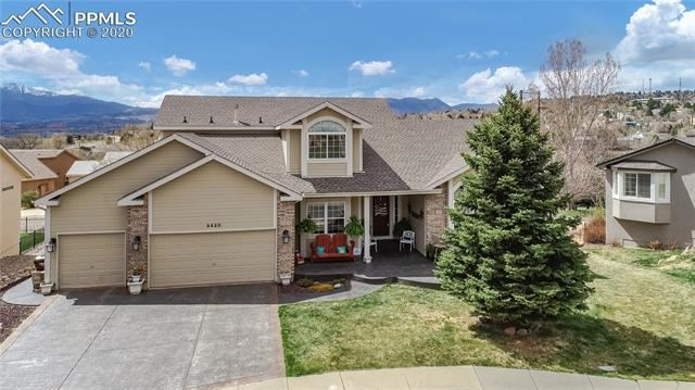 Photo for 3420 Palmer Hill Court, Colorado Springs, CO 80907 (MLS # 7655389)