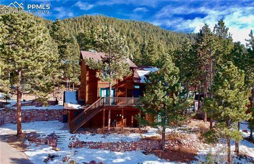 Photo of 1261 Forest Edge Road, Woodland Park, CO 80863 (MLS # 1284403)