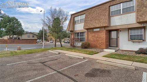 Photo of 1289 Willow Bend Circle #A, Colorado Springs, CO 80918 (MLS # 7663405)