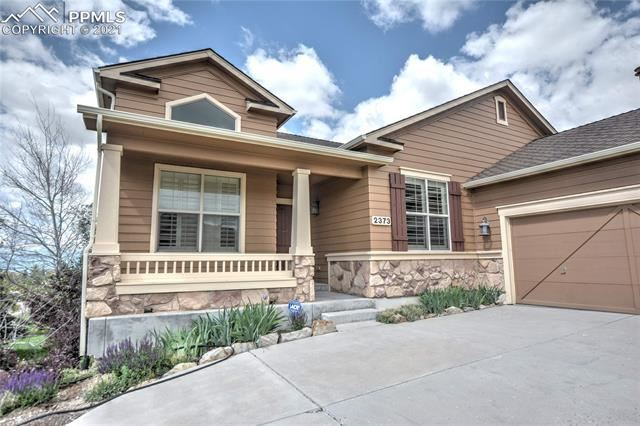 2373 Ledgewood Drive, Colorado Springs, CO 80921 - #: 3505455