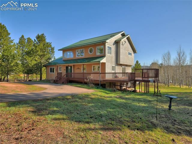 Photo for 1247 Mountain Meadows Drive, Woodland Park, CO 80863 (MLS # 3445460)