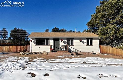 Photo of 1160 Sundance Street, Woodland Park, CO 80863 (MLS # 8512479)