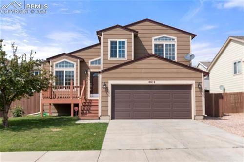 Photo of 4612 Tetman Lane, Colorado Springs, CO 80916 (MLS # 9859497)