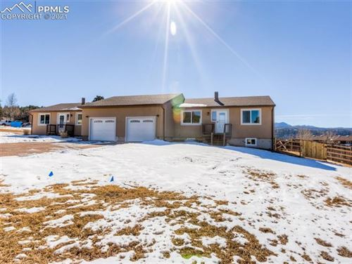 Photo of 1003 Mountain View Road, Woodland Park, CO 80863 (MLS # 7425518)
