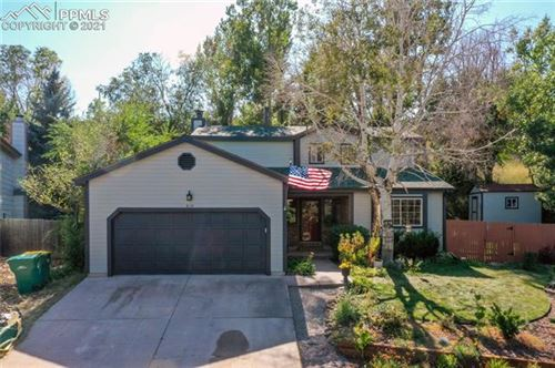 Photo of 6110 Amber Way, Colorado Springs, CO 80918 (MLS # 9252530)