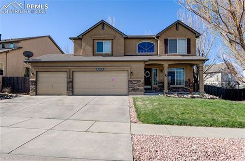 Photo of 6825 Amber Ridge Drive, Colorado Springs, CO 80922 (MLS # 6655547)